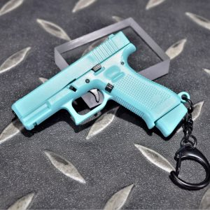 GLOCK G45 1:4 模型手槍 滑套可動 彈匣可卸 造型鑰匙圈 迷你鑰匙圈 小吊飾 WJ-G45TFNB