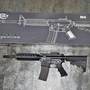GHK 10.5吋 M4 V2 Cybergun授權 COLT 柯特小馬刻字 GBB 瓦斯槍 長槍 步槍 GHK-CTM4-105