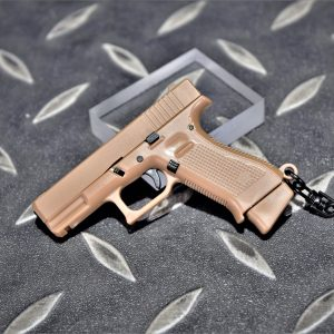 GLOCK G19X 1:4 模型手槍 滑套可動 彈匣可卸 造型鑰匙圈 迷你鑰匙圈 小吊飾 WJ-G19X