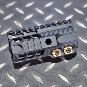 SI風格 4.25吋 M-Lok CNC 鋁合金 戰術魚骨護木 黑色 SI-42-BK
