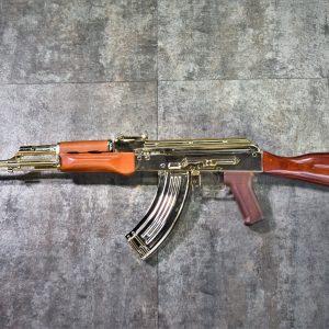 BELL AK-47 實木 護木 金屬 AEG 電動槍 電鍍金 金色 BELL-AK47-GD