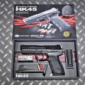 TOKYO MARUI 馬牌 HK45 Tactical GBB 瓦斯手槍 黑色 00861062