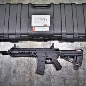 VFC AVALON CQB CALIBUR Keymod AR 電動槍 AEG 黑色 AV1-M4-SI-S-BK81