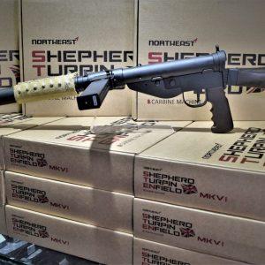 斯登 STEN MK6 MK VI GBB 瓦斯槍 鋼製 實木槍托握把 東北製造所 NE-SMG-09