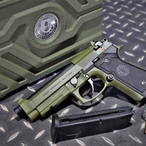 G&G 怪怪 GPM92 M9A1 貝瑞塔 GBB 全金屬 瓦斯手槍 綠色 GG-M9A1-OD