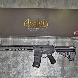 VFC AVALON Samurai EDGE M4 14吋 武士之刃 電子板機 AEG全金屬電動槍 黑色 AV1-M4-EDG-M-BK01