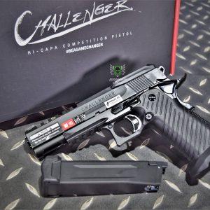 ICS 一芝軒 HI-CAPA 挑戰者 Challenger REVO系統 鋁合金滑套 GBB 瓦斯手槍 BLE-007-SB