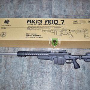 ASG ARCHWICK MK13 MOD7 美軍 空氣手拉狙擊槍 AI真槍廠授權 Keymod 黑色