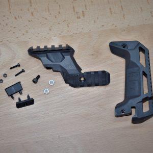 MG9 GLOCK 衝鋒套件 槍托墊+上魚骨組 RT-MG9-2BK