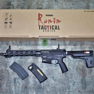 KWA KSC RM4 Ronin 浪人 T10 電動槍 長槍 AEG 3 雙匣版