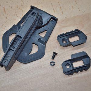 MG9 GLOCK 衝鋒套件 槍套插扣+下魚骨組 RT-MG9-3BK