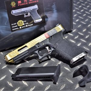WE 原力 GLOCK 克拉克 G34 鈦金色滑套 GBB 瓦斯槍 瓦斯手槍 WE-G008WET-TG