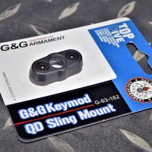 G&G 怪怪 KEYMOD QD 背帶扣座 背帶環座 黑色 G-03-162
