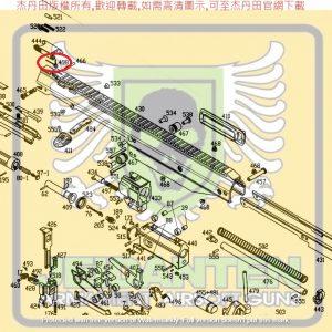 KWA KSC MASADA 零件 #498 準星零件 原廠零件