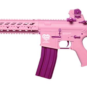 G&G 怪怪 M4 FF15-L 後座力 AEG 電動槍 步槍 長槍 粉紅色 GG-FF15-L-PK