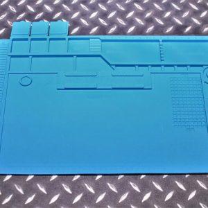 拆槍墊 矽膠工作墊 維修工作台 磁性隔熱墊 耐高溫 防靜電 JDT390