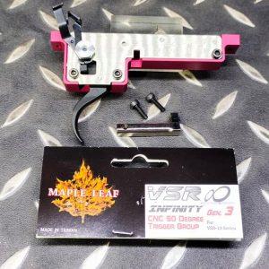 楓葉精密 Maple Leaf 零扣押板機 扳機 VSR 10 90度 M-VSR10-22