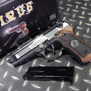 WE M9 惡靈古堡 拋光版 GBB 手槍 瓦斯槍 單發版 WEM92 SPD