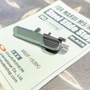警星 GUARDER Marui M92F/M9 鋼製滑套釋放鈕 M92F-15(BK)