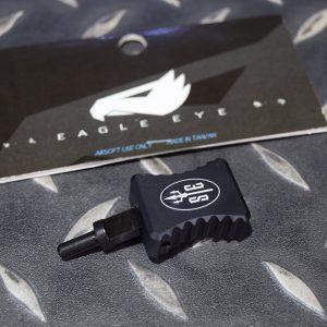 鷹眼 EAGLE EYE SCAR-H MK17系列 GBB專用 加大槍機拉柄 黑色