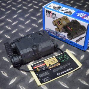G&G 怪怪 AN/PEQ-15 紅外線功能電池盒 雷射指標器 黑色 G-12-027