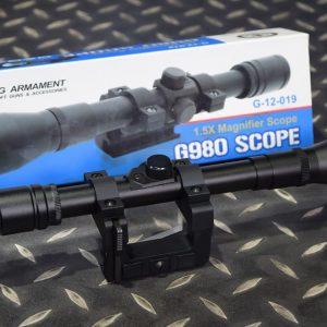 G&G 怪怪 Kar 98K / G980 1.5×1.3 狙擊鏡 G-12-019