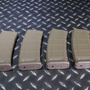 海神 POSEIDON 懲罰者 AEG 電動槍 無聲彈匣 沙色 一盒四入