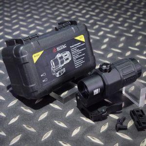 SOTAC EOTech 風格 G33 三倍側翻鏡 快拆功能 可增高 黑色 GZ-G33-BK