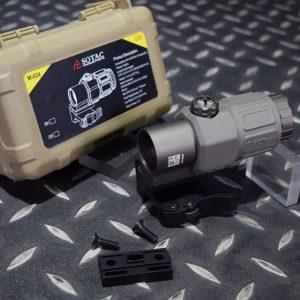 SOTAC EOTech 風格 G33 三倍側翻鏡 快拆功能 可增高 沙色 GZ-G33-DE