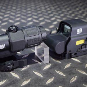 SOTAC EOTech 風格 XPS3 G33 三倍側翻 內紅點 套裝組 快拆 黑色 GZ-XPSG-BK
