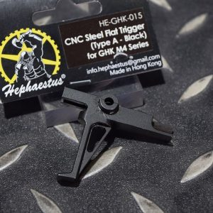 Hephaestus 匠神 Type A 黑色 BK 鋼製板機  GHK M4 MK18 GBB HE-GHK-015