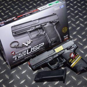TOKYO MARUI  馬牌 H&K USP Spring Pistol 手拉空氣手槍 NO.21