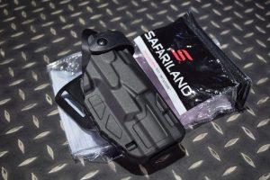 沙法利蘭 SAFARILAND 真品 7360 PPQ 適用 警用防搶槍套 黑色 7360-384-411