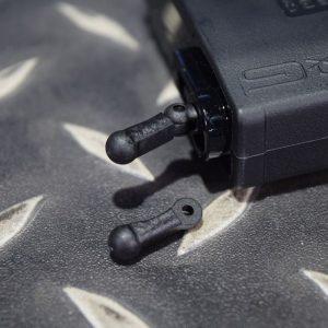 G&G 怪怪 M4 電動槍 AEG G2系統 PMAG 無聲彈匣零件 推彈頭 黑色 G-08-148-T