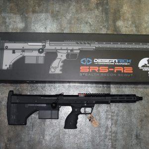 """楓葉精密代理 2020 """"SRS A2"""" 犢牛式手拉空氣狙擊槍 16吋緊緻版 三種顏色任選"""
