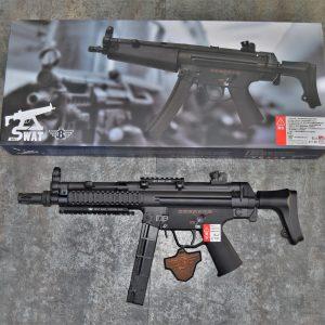 BOLT MP5-SWAT-A5-TACTICAL 戰術魚骨伸縮托版 後座力 BLOWBACK 電動槍