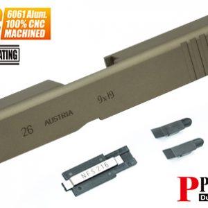 警星 MARUI G26 Gen3 CNC 鋁合金滑套 Custom 沙色 GLK-95(FDE)