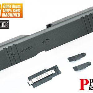 警星 MARUI G26 Gen3 CNC 鋁合金滑套 Custom 黑色 GLK-95(BK)