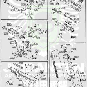 WE GP1799 原廠零件 爆炸圖 零件下標區