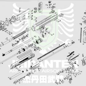 WE HK G3A3 原廠零件 爆炸圖 零件下標區