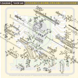 KWA/KSC TAR21 GBB 瓦斯槍 維修 原廠零件 爆炸圖 訂購區