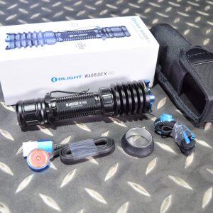 Olight Warrior X PRO 武士 2250流明 戰術手電筒 USB充電器 黑色 OL-33