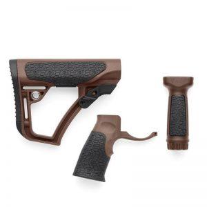 DD Daniel Defense 握把+1913 戰術握把+槍托 M4 AR 沙色 P0000112