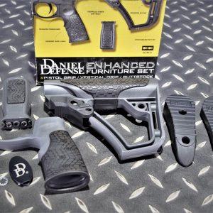 DD Daniel Defense 握把+KEYMOD 戰術握把+槍托 M4 AR 灰色 P0000123