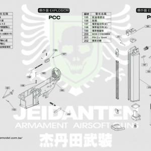 WE PCC 原廠零件 爆炸圖 零件下標區