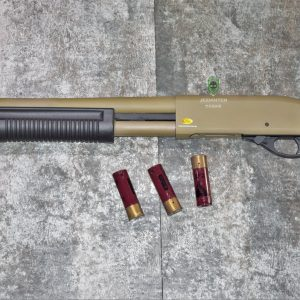 鬥牛士 MATADOR 金鷹 M870 Marui系統 三發型泵動式瓦斯霰彈槍 矮子 沙色 RNGCSG1D
