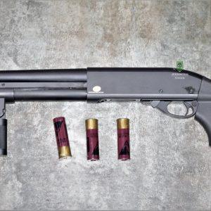 鬥牛士 MATADOR 金鷹 M870 Marui系統 三發型泵動式瓦斯霰彈槍 矮子 黑色 RNGCSG2B