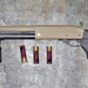 鬥牛士 MATADOR 金鷹 M870 Marui系統 三發型泵動式瓦斯霰彈槍 矮子 沙色 RNGCSG2D