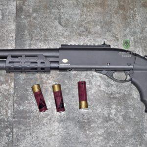 鬥牛士 MATADOR 金鷹 M870 Marui系統 三發型泵動式瓦斯霰彈槍 矮子 黑色 RNGCSG4B