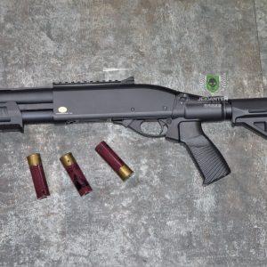 鬥牛士 MATADOR 金鷹 M870 Marui系統 三發型泵動式瓦斯霰彈槍 矮子 黑色 RNGCSG7B